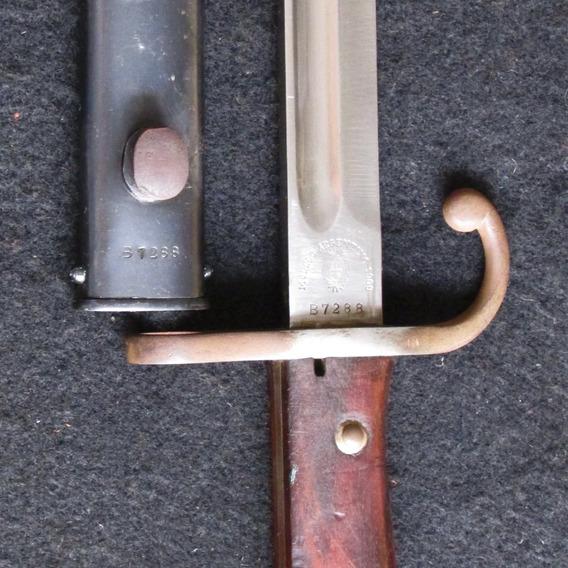 Sable Bayoneta Modelo Argentino 1909 Weyesberg Solingen