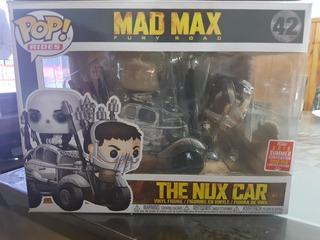 Funko Pop Ride Mad Max The Nux Car #42