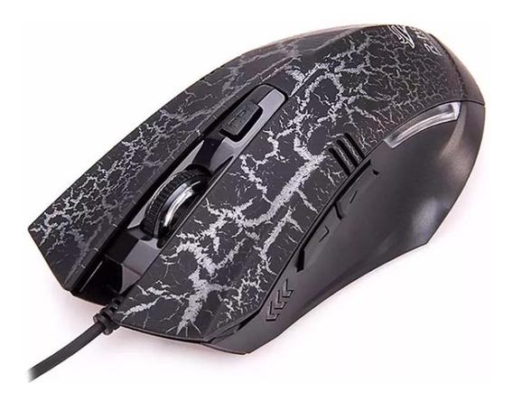 Mouse Usb C/ 1,2 M De Fio Gamer 7 Botões3200 Dpi Led Xzh Rpg