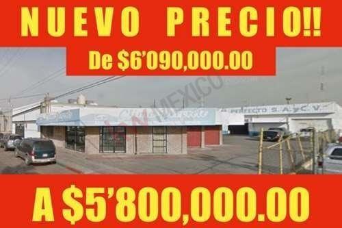 En Venta Bodega + Oficinas Centro Civico (a Un Lado De Cinepolis Mexicali) $5´800,000.00 Pesos (1 Bodega + 3 Oficinas)