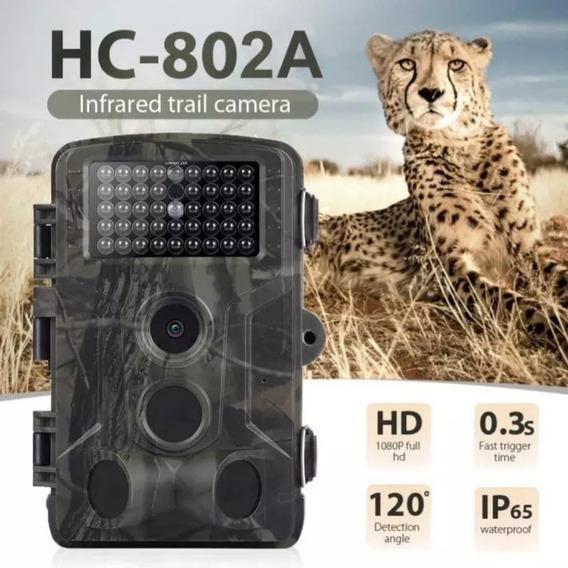 Câmera Caça Infravermelho Tira Fotos E Vídeos Visão Noturna
