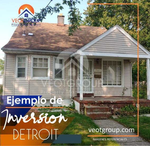 Casas De Oportunidad En Detroit 3hab 1ba Listas Para Rentar