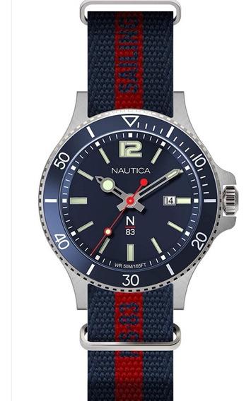 Reloj Caballero Náutica N83 Fechador Original Envío Gratis