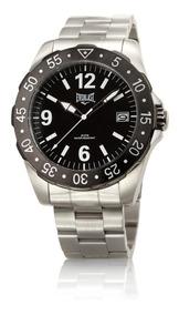Relógio Everlast Caixa E Pulseira Aço E267