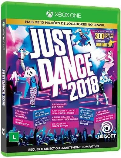 Just Dance 2018 Xbox One Mídia Física 12x S/juros