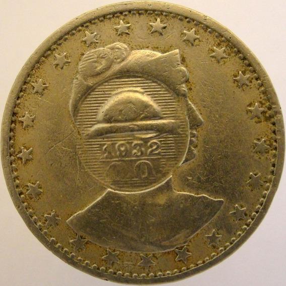 .moeda 400 Réis - M C M I - C/ Carimbo Campanha Do Ouro 1932