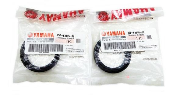 Par De Retentor Bengala Yamaha Mt03 E Yzf R3 320 Cc Original