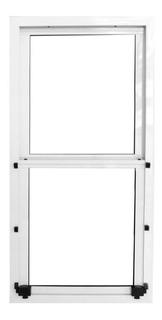 Ventana Guillotina Aluminio Maxialuminios 50 X 100