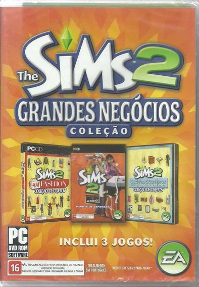 The Sims 2 Aberto Para Negócios+ 2 Jogos Originais Pc Dvd