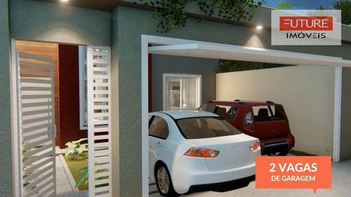 Imagem 1 de 16 de Casa Com 3 Dormitórios À Venda, 105 M² Por R$ 425.000 - Nova Atibaia - Atibaia/sp - Ca0122