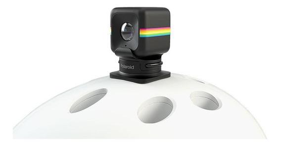 Câmera De Ação Full Hd Polaroid Cube Suporte De Capacete
