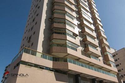Apartamento Com 4 Dormitórios À Venda, 225 M² Por R$ 980.000 - Campo Da Aviação - Praia Grande/sp - Ap3046