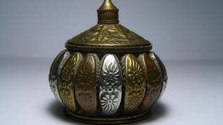Caja De La India Antigua Y Valiosa