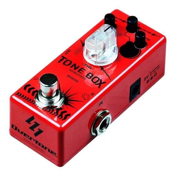 Pedal De Guitarra Booster Tone Box Overtone