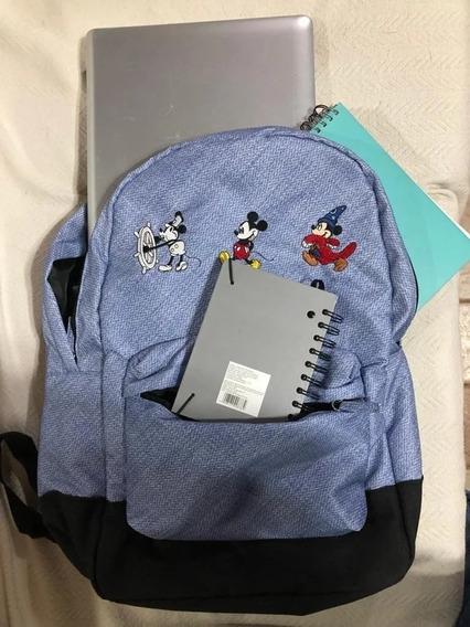 Mochila Mickey Original Disney Store - Laptop