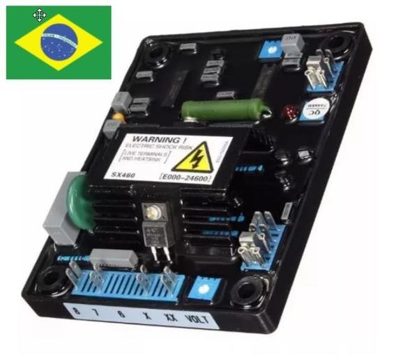 Regulador Tensão Sx460 Avr Gerador Stamford Negrini Weg Kva
