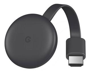Google Chromecast 3 Hdmi Streaming Media Player - Negro