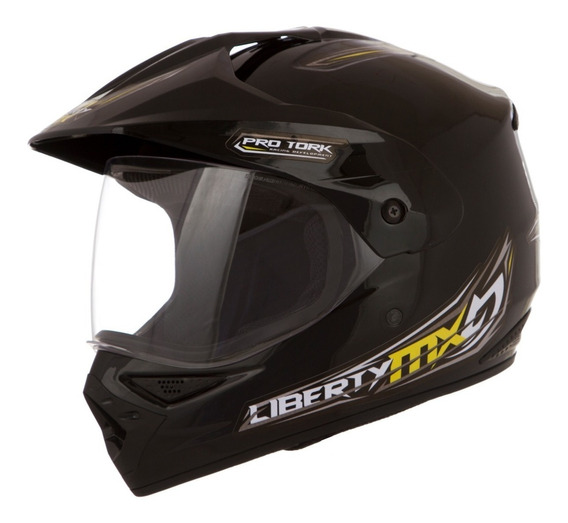 Capacete Motocross Pro Tork Liberty Mx Vision