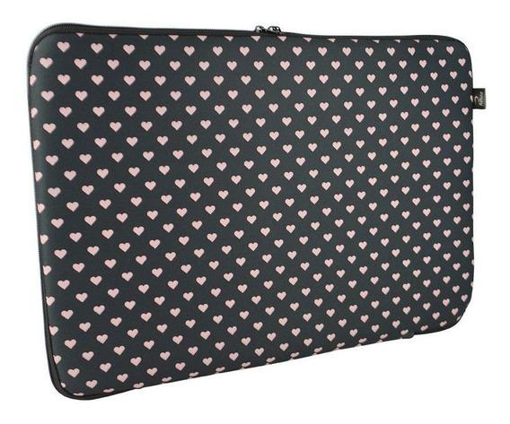 Capa Case Para Notebook 15.6 - Poa Love Chocolate