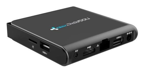 Noga Pc Pro 4k Smart Box Android Wifi Usb Hdmi Ultra Hd