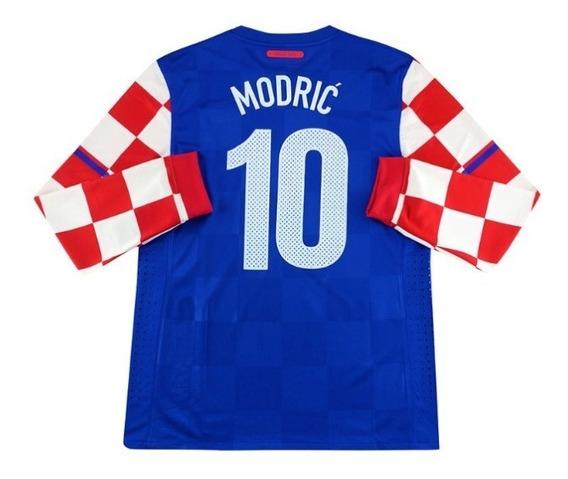 Camiseta Nike Croacia Tela De Juego 10 Modric Importada