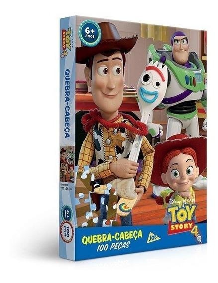 Quebra Cabeça 100 Peças Toy Story 4 - Toyster