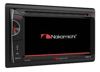Radio Nakamichi Na1200s Full Hd Dvd Bluetooth Usb 6,2