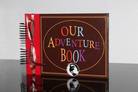 Álbum Fotos Scrapbook Our Adventure Book Namorados Fls B