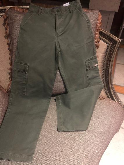 Pantalon Burberry Niño Verde