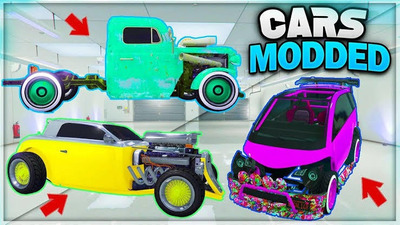 !! Coches Modeados!! Xbox One Gta V Online