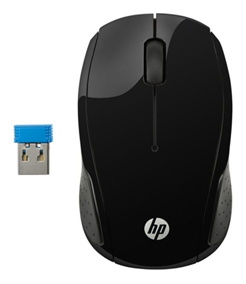 Mouse Hp X200 Oman Sem Fio Preto