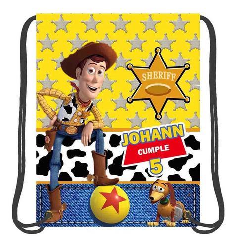 Imagen 1 de 4 de 30 Mochilas Dulceros, Personalizados, Fiestas, Toy Story