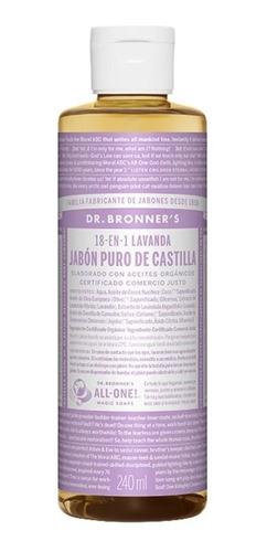 Jabon De Lavanda Puro De Castilla Dr Bronners - Fralugio
