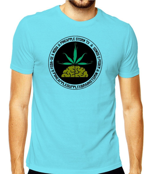 Camiseta Poesia Acústica Pnpl Rap Pineapple Hiphop Rap Trap