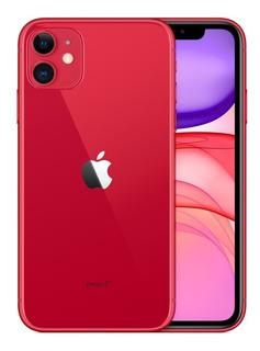 iPhone 11, 256 Gb Tela 6,1 4g Câmera 12 Mp - Novo Lacrado Nf
