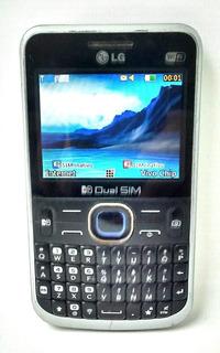 Celular Lg C397,qwerty,2chip,simple