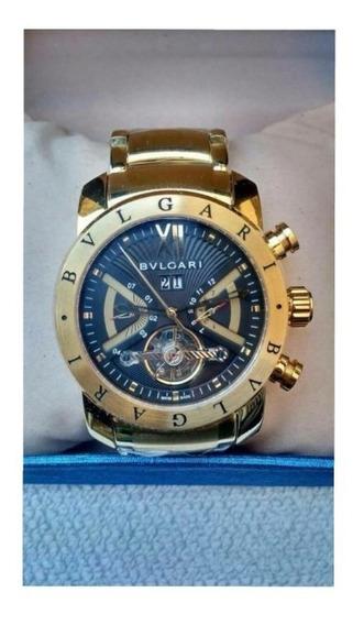 Relógio Gvc542 Bv Iron Man Série Ouro Original