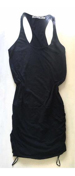 Vestido Negro Corto Importado Talle 38-40