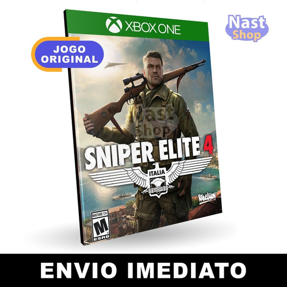 Sniper Elite 4 Deluxe Edition Xbox One Digital Envio Rápido
