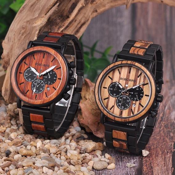 Relógio Bobo Bird Importado 002