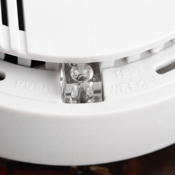 Fogo Fumo Sensor Detetor Alarme Testador Casa Segurança Sis