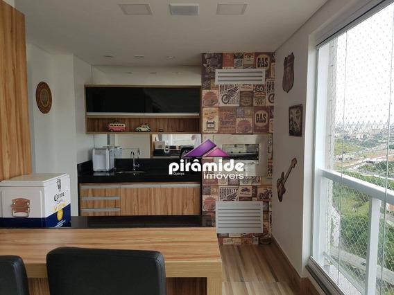 Apartamento Duplex Com 3 Dormitórios À Venda, 147 M² Por R$ 1.060.000,00 - Vila Ema - São José Dos Campos/sp - Ad0055