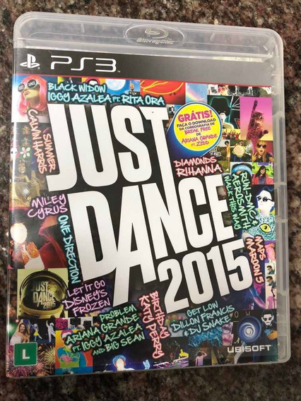 Just Dance 2015 Ps3 Mídia Física Seminovo