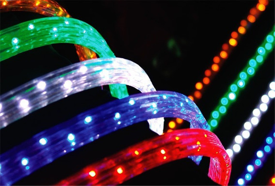 Mangueira Led Luminosa 5 Metro Decoração Várias Cores Brilho