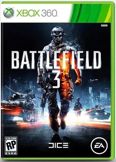 Jogo Xbox 360 Battlefield 3 Midia Fisica Original