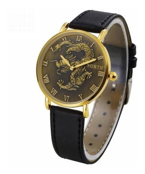Relógio Dragão Oriental 4cm