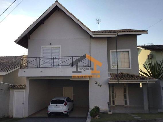 Casa Com 4 Dormitórios À Venda, 282 M² Por R$ 800.000,00 - Condomínio Itatiba Country Club - Itatiba/sp - Ca0838