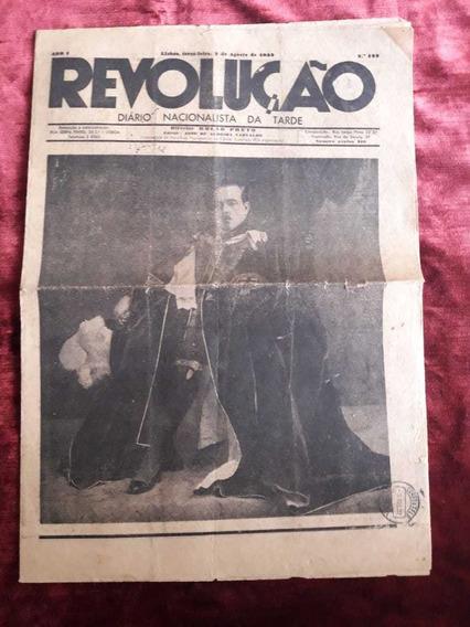 Jornal Antigo A Queda Da Monarquia (leia A Descrição)