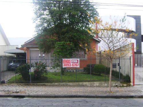 Terreno/loteamento À Venda Com 541.8m² Por R$ 980.000,00 No Bairro Bom Retiro - Curitiba / Pr - T 1340