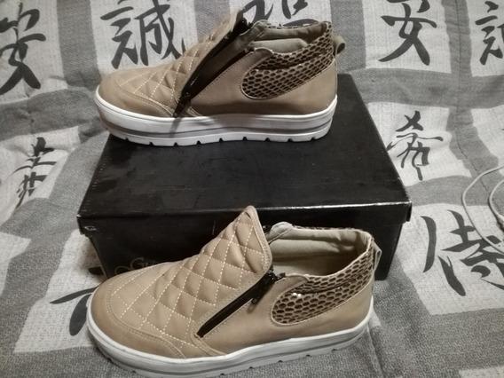 Zapatillas Con Cierre